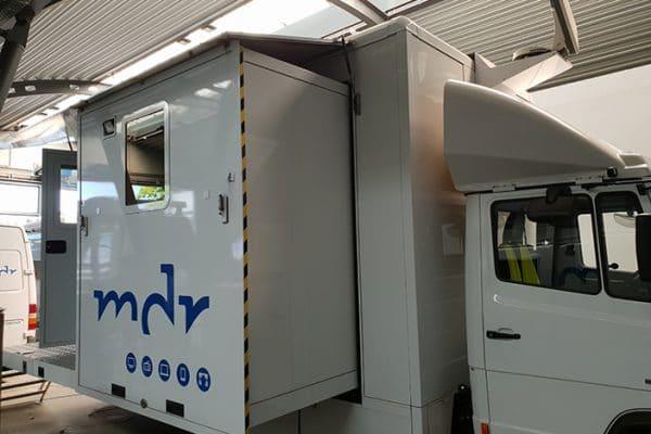 MDR-Übertragungswagen für Außensendungen