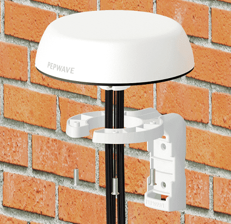 5g peplink outdoor antenne wandmontage